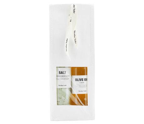 Nicolas Vahe Paquet cadeau Sel & Huile avec sel et huile d'olive