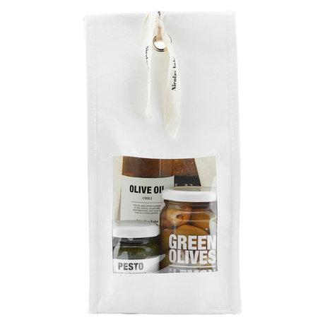 Nicolas Vahe Geschenkpaket Tapas mit Pesto, grünen Oliven, Olivenöl und Crackern