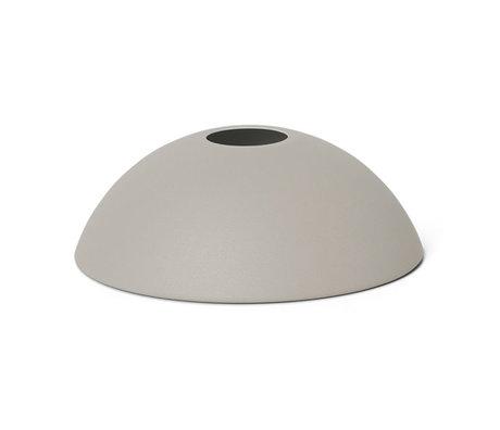 Ferm Living Lampenschirm Hoop hellgrau Metall 20x7cm