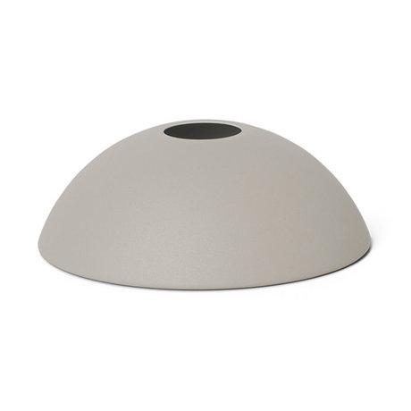 Ferm Living Lampenkap Hoop licht grijs metaal 20x7cm