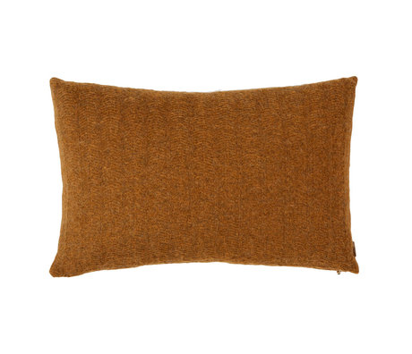 OYOY Kissen Kata Karamell braun Textil 40x60cm