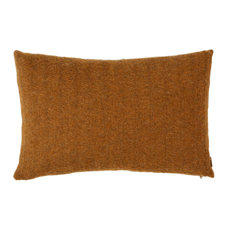 OYOY Cushion Kata caramel brown textile 40x60cm