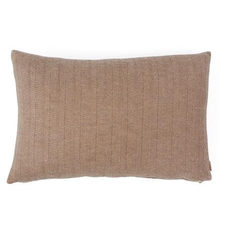 OYOY Sierkussen Kata licht bruin textiel 40x60cm