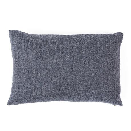 OYOY Decorative pillow Kata gray textile 40x60cm