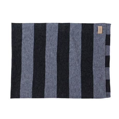 OYOY Plaid Sonno grau blau Textil 130x170cm