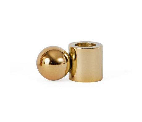 OYOY Chandelier Palloa métal doré S 3.9x2x2 cm