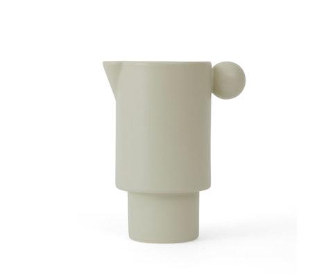 OYOY Milk jug Inka off-white ceramic Ø7,5x14cm