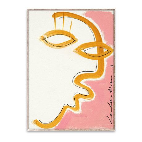 Paper Collective Poster Gentil papier rose 30x40cm