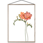 Paper Collective Poster Forever Flower 02 mehrfarbiges Papier A3 30x42cm