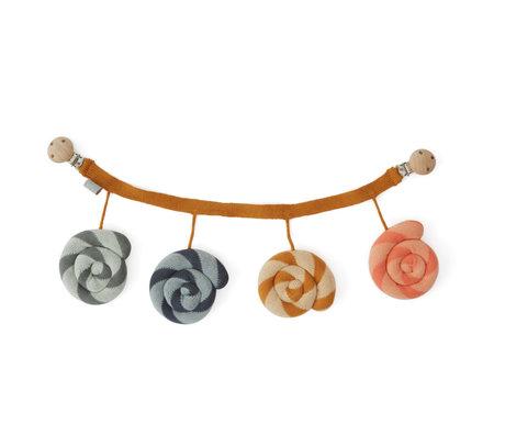 OYOY Pram tensioner Lollipop multicolour textile 45x13cm