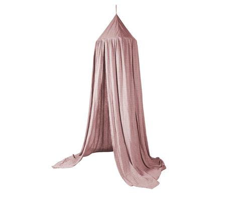 Sebra Moskitonetz Baldachin erröten rosa Baumwolle Ø52x240cm