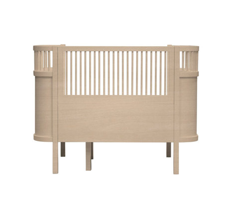 Sebra Bed Baby & Junior Wood brown wood 115-152x75,8x88cm
