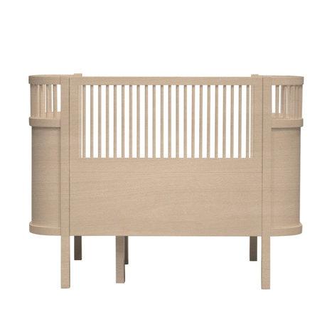 Sebra Bett Baby & Junior Holz braun Holz 115-152x75,8x88cm