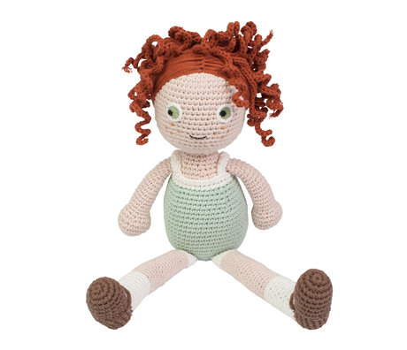 Sebra Pop Hanna mehrfarbiges Textil 40 cm