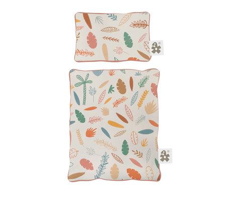 Sebra Bedding for doll bed Wildlife multicolour textile 34x28cm