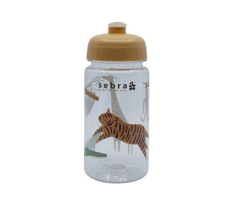 Sebra Drinkfles Wildlife multicolour kunststof Ø7x17cm