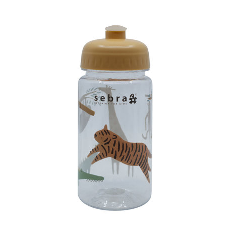 Sebra Drinking bottle Wildlife multicolour plastic Ø7x17cm