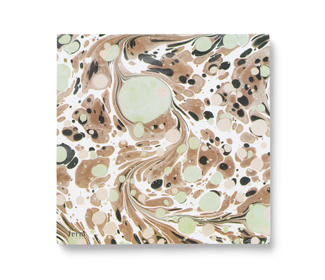 Ferm Living Servetten Rust multicolour set van 20 stuks 16,5x16,5cm