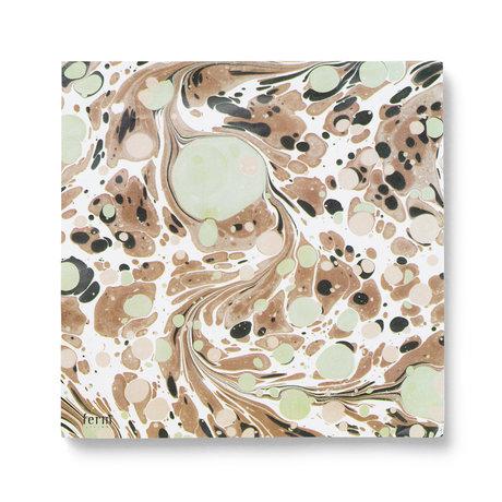 Ferm Living Servietten Rust mehrfarbiges Set von 20 Stück 16,5 x 16,5 cm