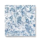 Ferm Living Servietten Dusty Blue Multicolor Set von 20 Stück 16,5 x 16,5 cm