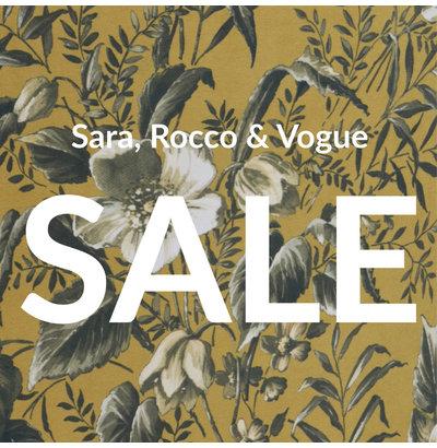 Sara, Rocco & Vogue SALE!
