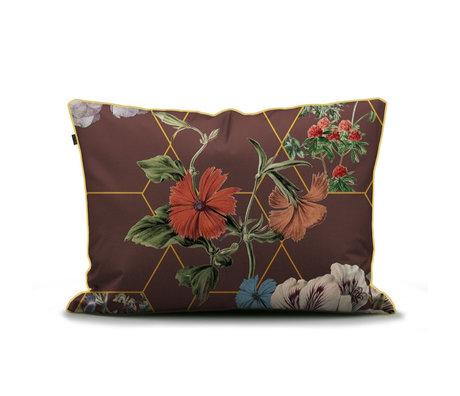 ESSENZA Taie d'oreiller Abigail marron multicolore textile 60x70cm