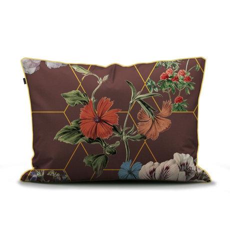 ESSENZA Kussensloop Abigail bruin multicolour textiel 60x70cm