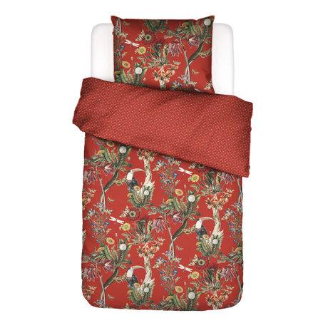 ESSENZA Duvet cover Airen Chilli red multicolour textile 140x220cm - incl. Pillowcase 60x70cm