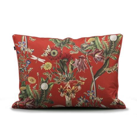 ESSENZA Taie d'oreiller Airen Chilli rouge multicolore textile 60x70cm