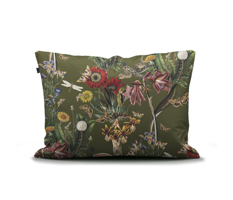 ESSENZA Pillowcase Airen Moss green multicolour textile 60x70cm