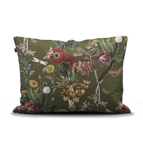 ESSENZA Taie d'oreiller Airen vert mousse multicolore textile 60x70cm