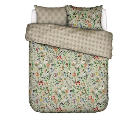 ESSENZA Dekbedovertrek Aletta Taupe bruin multicolour textiel 240x220cm - incl. kussensloop 2x 60x70cm