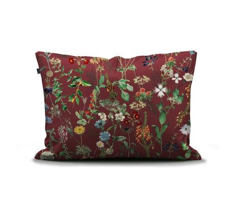 ESSENZA Taie d'oreiller Aletta bordeaux rouge multicolore textile 60x70cm