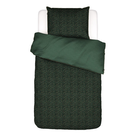 ESSENZA Duvet cover Bory green textile 140x220cm - incl. Pillowcase 60x70cm