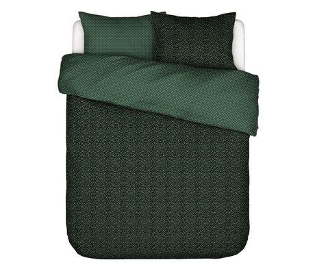 ESSENZA Duvet cover Bory green textile 240x220cm - incl. Pillowcase 2x 60x70cm