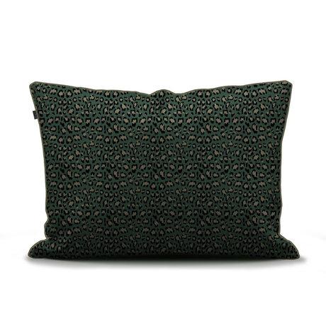 ESSENZA Kussensloop Bory groen multicolour textiel 60x70cm