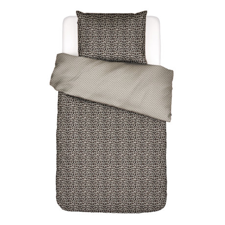 ESSENZA Duvet cover Bory sand brown textile 140x220cm - incl. Pillowcase 60x70cm