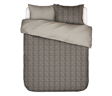 ESSENZA Bettbezug Bory sandbraun Textil 200x220cm - inkl. Kissenbezug 2x 60x70cm