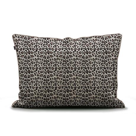 ESSENZA Kissenbezug Bory sandbraun mehrfarbiges Textil 60x70cm