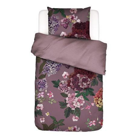 ESSENZA Housse de couette Diana Lila textile violet 140x220cm - Taie d'oreiller incluse 60x70cm