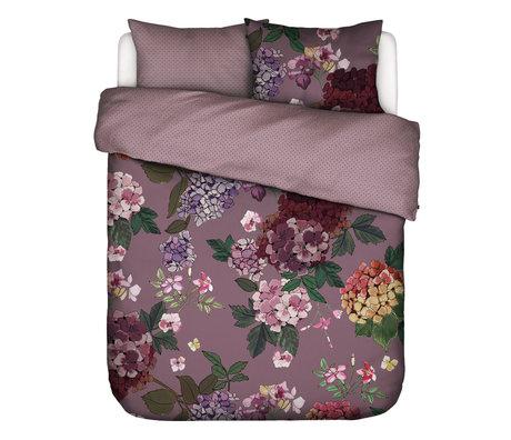 ESSENZA Dekbedovertrek Diana Lila paars textiel 200x220cm - incl. kussensloop 2x 60x70cm