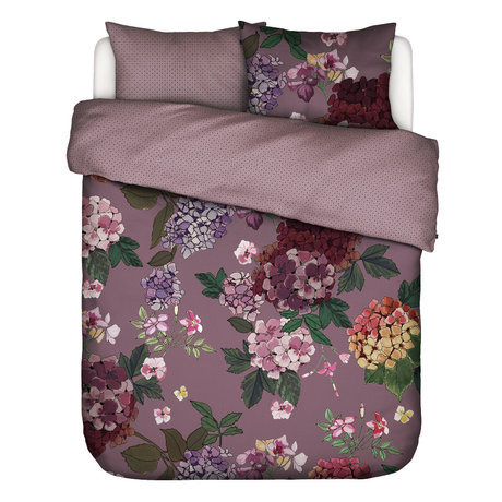 ESSENZA Duvet cover Diana Lila purple textile 200x220cm - incl. Pillowcase 2x 60x70cm