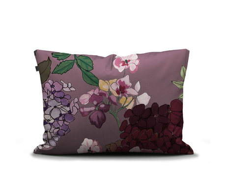 ESSENZA Pillowcase Diana Lilac purple multicolour textile 60x70cm