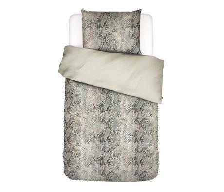 ESSENZA Duvet cover Doutzen sand brown textile 140x220cm - incl. Pillowcase 60x70cm