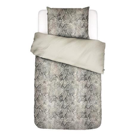 ESSENZA Bettbezug Doutzen sandbraun Textil 140x220cm - inkl. Kissenbezug 60x70cm