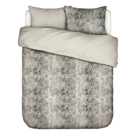 ESSENZA Bettbezug Doutzen sandbraun Textil 200x220cm - inkl. Kissenbezug 2x 60x70cm