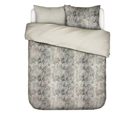 ESSENZA Housse de couette Doutzen sable brun textile 240x220cm - Taie d'oreiller incluse 2x 60x70cm