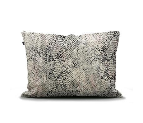 ESSENZA Kissenbezug Doutzen sandbraun mehrfarbiges Textil 60x70cm