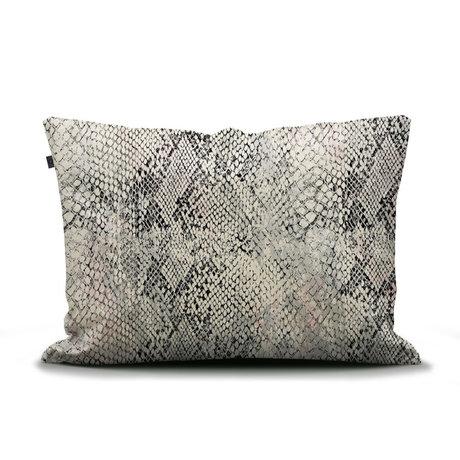 ESSENZA Cushion cover Doutzen sand brown multicolour textile 60x70cm