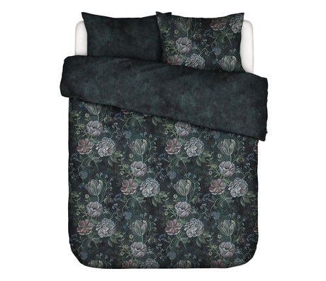 ESSENZA Bettbezug Elizabeth dunkelblau mehrfarbiges Textil 200x220cm - inkl. Kissenbezug 2x 60x70cm